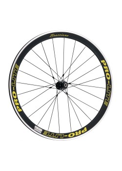Pro-Lite-Bracciano-A42-Deep-Section-Alloy-Wheelset-Special-Yellow-Edition  9/10/11 Speed Shimano/SRAM